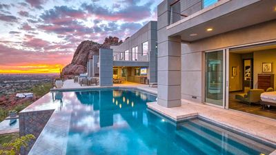 Photo for Private Resort 8 bdrms w/ movie theater! 10 Million Dollar Mansion on Camelback