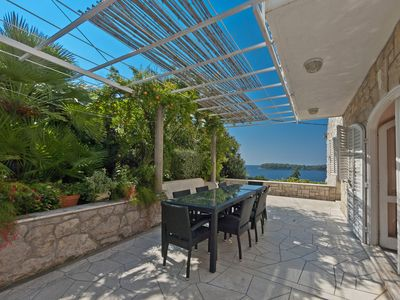 Photo for Gorgeous villa with unforgettable view and swimming pool