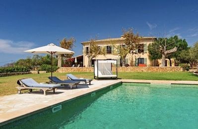 Photo for Beautiful spacious finca in the southeast of Mallorca. 5m to the nearest beach
