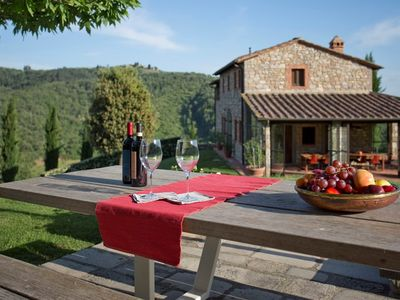 Photo for CHARMING VILLA near Gaiole in Chianti (Chianti Area) with Pool & Wifi. **Up to $-2645 USD off - limited time** We respond 24/7