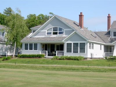 Photo for Modern  Home w/pool: Ocean +Golf Course Views, 10 min walk to the Samoset Resort