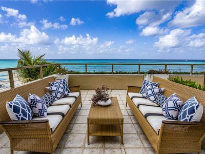 Photo for Breathtaking Ocean Front Views of 7 Mile Beach Residence Located at The Ritz-Carlton