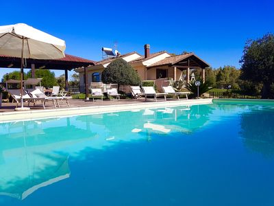 Photo for In Alghero Wonderful Villa Mariposa, with swimming pool, for 12/14 people