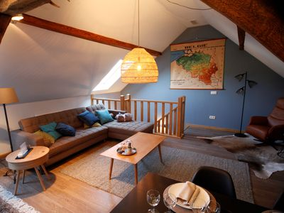 Photo for Fully equipped duplex apartment near Brussels for 1 to 4 persons
