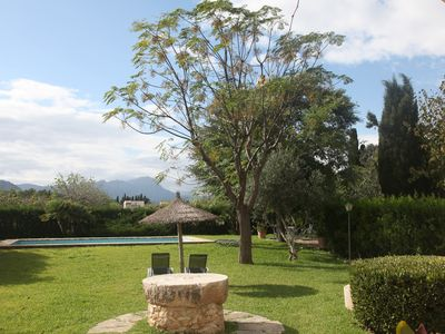 Photo for U Vila de Pollensa. Rustic finca with pool