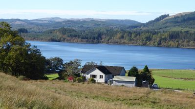 Photo for Peaceful Farm Cottage in the 'Heart of Argyll' over-looking Loch Awe