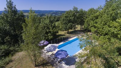 Photo for Stone house with stunning elevated views, private pool and complete privacy