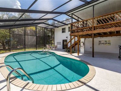 Photo for Sandal Fin Beach House, Sleeps 6, Heated Private Pool, 2 Bedrooms, WiFi