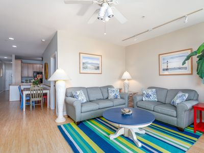 Photo for Ocean View Beachwalk Villa-Center of Everything  CLOSE TO BEACH , PIER,  DINING