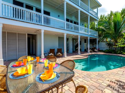 Waterfront Luxury Home with private pool in exclusive Key Cove Landings!