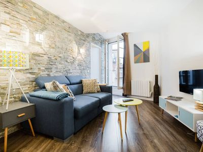 Photo for 1 Bedroom Flat Quartier Rotonde - Lift, Wifi, Air Conditionning / 1 to 6 People