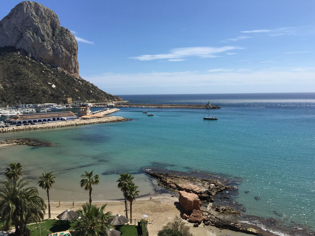 Luxury Beach Front Apartment Calpe Costa Blanca Spain