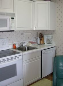 A kitchen just like home!