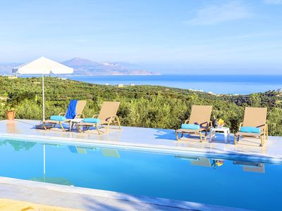 Photo for Cretan Family Villa | Private Heated Pool
