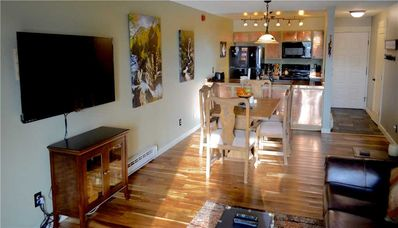 Photo for Newly remodeled Peak 8 ski in/ski out 2 bedroom & 2 full bath with modern mountain decor