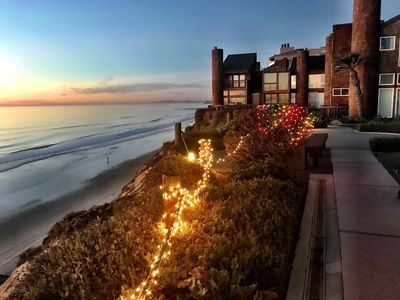 Photo for Ocean Front Complex Condo w/Private Stairs to Best Beach in San Diego!