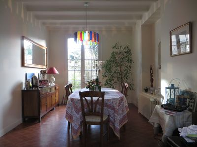 Photo for Spacious House with pool close to Paris downtown and Versailles