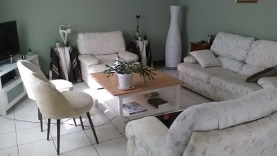 Photo for House with secure garden for 6 people, 5 min from port, beach, shops