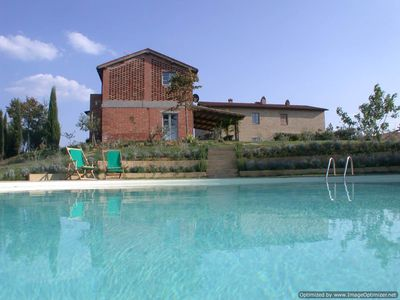 Photo for Casa for rent in Asciano, house to let nin Asciano, Tuscan villa rental