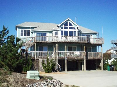 Photo for SEMI-OCEANFRONT- 6 BEDROOMS (4 MASTERS), PRIVATE POOL, HOT TUB AND CARGO LIFT