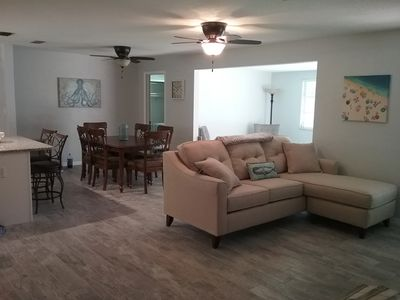 Photo for Beautifully updated and spacious 2 bed/2 bath minutes from the beach!