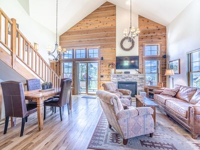 Photo for Large Luxury Mountain Home-Sleeps up to 9