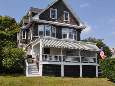 Photo for Landmark Victorian Summer Cottage on Narragansett Bay
