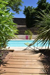 Photo for L'Or Azur, lush greenery, private SPA and heated pool