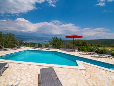 Photo for Holiday Apartment Angelina With Seaview, Swimming Pool and Grill