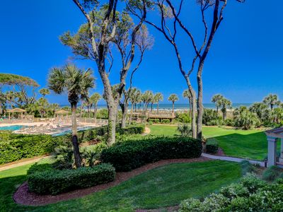 Photo for GREAT Views Luxury 2 BR 2 BA Fitness Center Pool heated Spring/Fall Covered parking Perfect Vacation