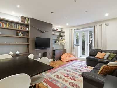 Photo for Large 2-Bed flat w/Garden in Shoreditch