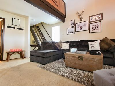 Photo for 2 Bedroom+Loft/2 Bathroom townhome-nicely updated and sleeps 8 comfortably
