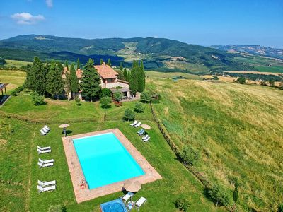 Photo for Villa in Campiglia D'orcia with 8 bedrooms sleeps 16