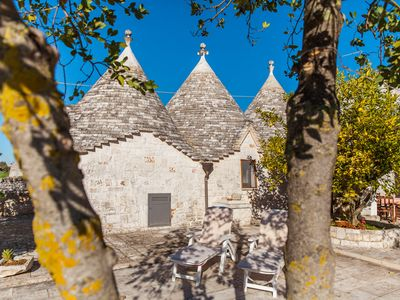 Photo for Trulli in Itria Valley, not far from the center of Cisternino.