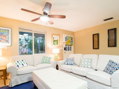 Photo for Dolphin House: Split Floor Plan Charmer with Shaded Yard, Near Waterfront