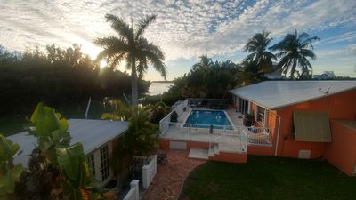 Photo for Tranquil Waterfront Home With Pool, Kayaks And Privacy Near Sombrero Beach