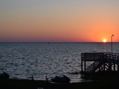 Photo for SOUND FRONT!, Dock, Kite-In, Kite-Out, Awesome Sunsets, Spacious, SOUND FRONT!