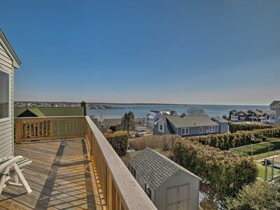 Photo for Narragansett Home-Deck, Ocean Views & Beach Access