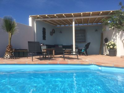 Photo for Authentic and romantic Finca situated on hill with panoramic sea views!
