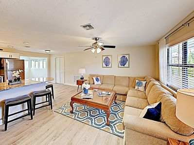 Living Room - Welcome to Naples! This home is professionally managed by TurnKey Vacation Rentals.
