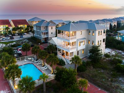 Photo for SOUTH Side 30A GULF VIEWS Seagrove Beach House +  Pool + FREE BIKES!!