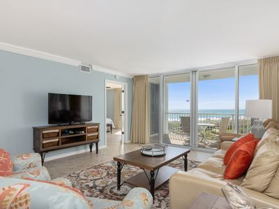 Photo for FREE BEACH SETUP - Shoreline Towers 1034 with wonderful views of beach!!