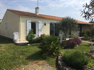 Photo for House of even foot with closed garden with the doors of the island of Oléron