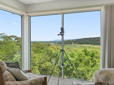 Photo for PANORAMIC VIEWS - river, valley and ocean views