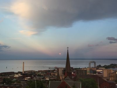 Photo for Panoramic View of Lake Superior and Duluth Harbor