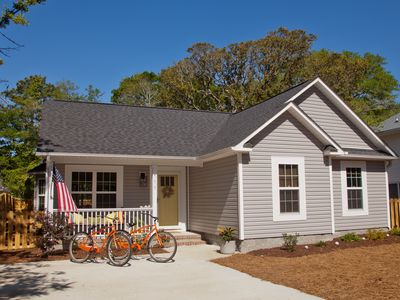 Photo for Professionally-designed 3br/2ba Oak Island retreat: The Wooden Whale