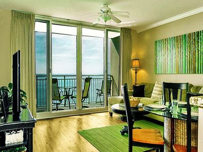 Photo for BEACHY CHIC UNIT! OPEN 9/21-28! AMAZING BALCONY VIEWS OF THE GULF!