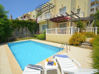Photo for A41 Bodrum Flamingo 3 Bedroom Holiday Villa with Private Pool