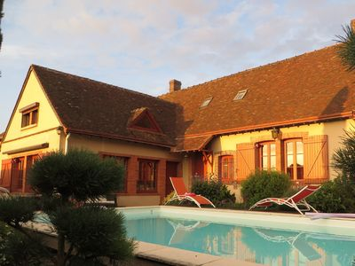 Photo for DESTINATION AND RELAXATION charming countryside 12 with pool spa
