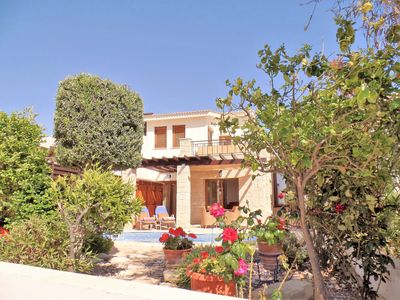 Photo for Home from Home Villa, Relax or Play on 5* PGA Cyprus Resort in a Private Villa